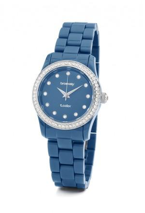 Orologio Brosway T-Color Mini Donna Blu Cristalli Swarovski WTC39