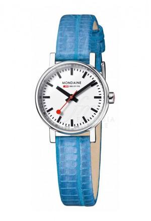 Orologio Mondaine Donna Evo Petite Solotempo Cinturino Blu A658.30301.11SBD