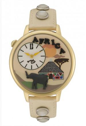 Orologio Donna Trend Brown Africa Braccialini Tua 120/1WW
