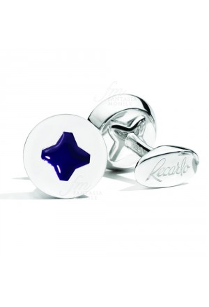 Gemelli Uomo Polsini Tools Argento Blu Recarlo K16GE030/BLU