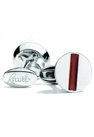 Gemelli Recarlo Uomo Polsini Tools Argento Smalto Rosso Red K16GE033/ROS