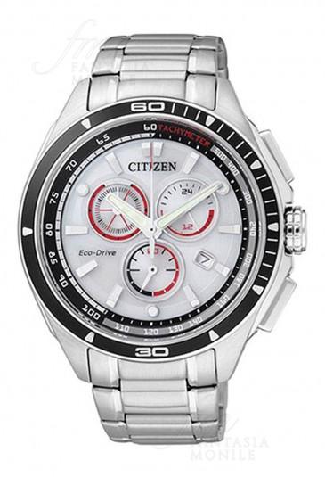 Orologio Uomo Chronografo Eco-Drive Acciaio Citizen AT0956-50A