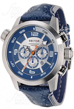 Orologio Sector Uomo Oversize Chronografo Acciaio R3271602035