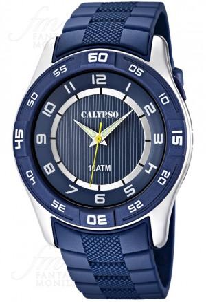 Orologio Calypso Uomo Solo Tempo Blu Notte K6062/2