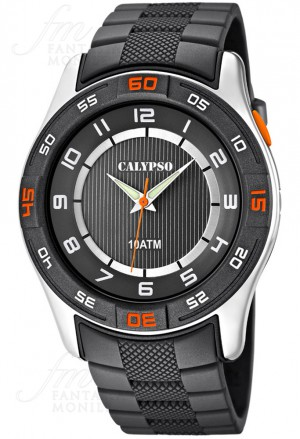 Orologio Calypso Uomo Solo Tempo Grigio K6062/1
