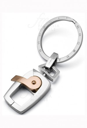 Portachiavi Brosway Unisex Galileo Acciaio Rosa BGA02
