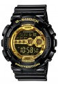 Orologio Casio G-Shock Uomo Sportivo Gomma Nero Oro GD-100GB-1ER