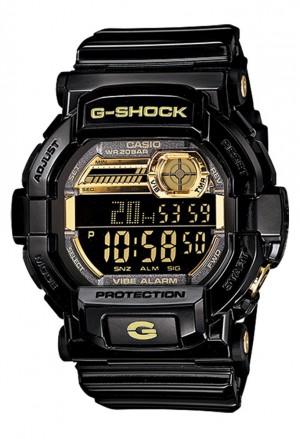 Orologio Casio G-Shock Uomo Sportivo Gomma Nero Oro GD-350BR-1ER