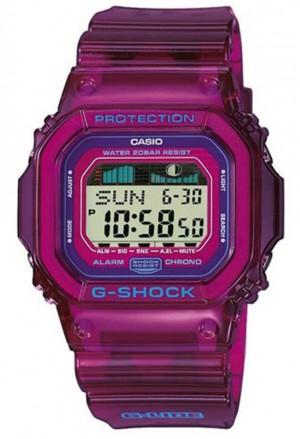 Orologio Casio G-Shock Gomma Lilla Cronografo Allarme Illuminazione GLX-5600B-4ER