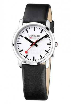 Orologio Mondaine Simply Elegant Medio Unisex Piatto Solotempo Acciaio A400.30351.11SBB
