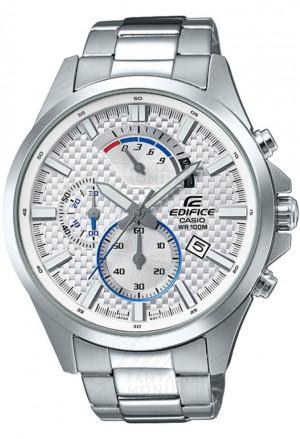Orologio Edifice Casio Chrono Cassa Acciaio Uomo EFV-530D-7AVUEF