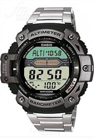 Orologio Casio Chronografo Barometro Termometro Acciaio Uomo SGW-300HD-1AVER
