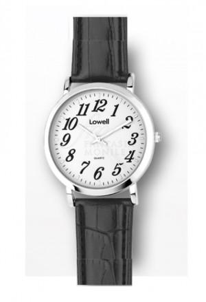 Orologio Lowell Uomo Quadrante Bianco Cinturino Similpelle Classic PL5080-0122B