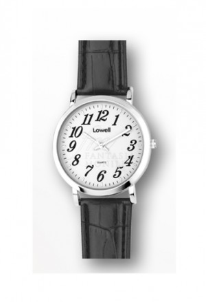 Orologio Lowell Medio Quadrante Bianco Cinturino Similpelle Classic PL5090-0122B