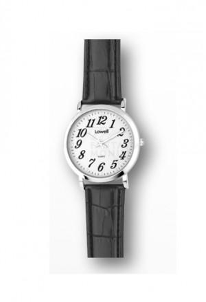 Orologio Lowell Donna Quadrante Bianco Cinturino Similpelle Classic PL5110-0122B