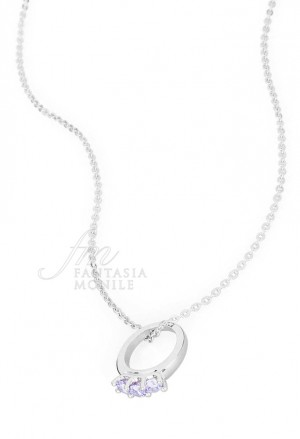 Collana Donna Promise Charm Anello Trilogy Love Argento Brosway PR05