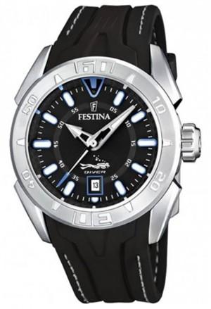 Orologio Festina Uomo Solo Tempo Datario Impermeabile 20ATM Sport Watch F16505/A