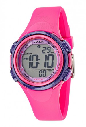 Orologio Sector Donna Digitale Rosa Acciaio Silicone R3251591501