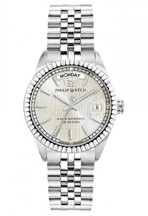 Orologio Philip Watch Unisex Caribe Quadrante Trama Silver R8253597530