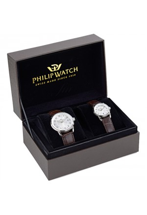 Coppia Orologi Philip Watch Kent Anniversario 25 Anni R8251178011