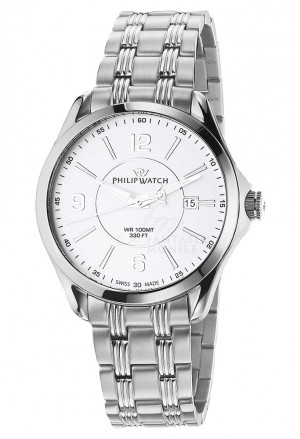 Orologio Philip Watch Uomo Blaze Silver R8253165002