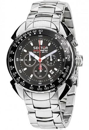 Orologio Uomo Chronografo Shark Master Acciaio Sector R3273678025